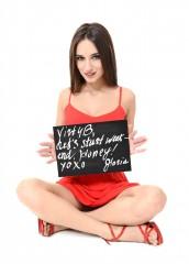 istripper fansign Gloria / Sophia