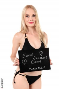 istripper fansign Maria Rubio